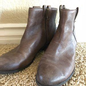 "Sam Edelman ""James"" distressed booties/boots"
